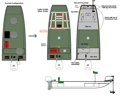 jon boat floor plans 25 best ideas about jon boat on pinterest aluminum bass
