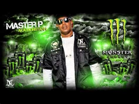 master p energy drink master p aka monstahh quot energy drink quot