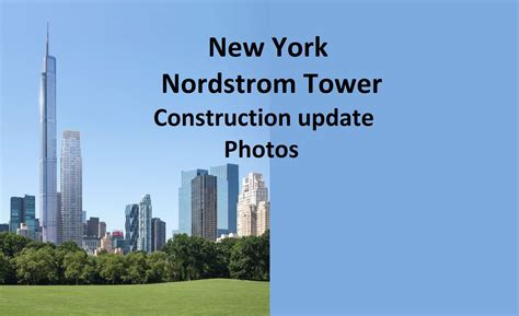 Garden City Ny Nordstrom New York Nordstrom Tower 472 M Construction Update