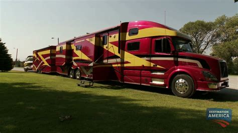 luxury semi trucks the powerhouse coach epic youtube