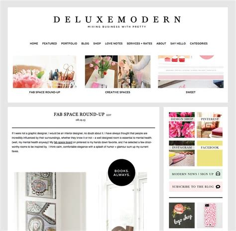 wordpress blog layout template 9 best photos of blog layout designs blog layout design
