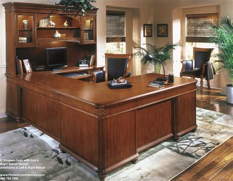 u desk with hutch u shaped office desk with hutch