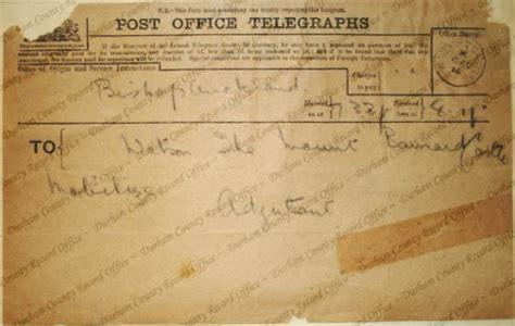 Durham Records 4 August 1914 Durham At War