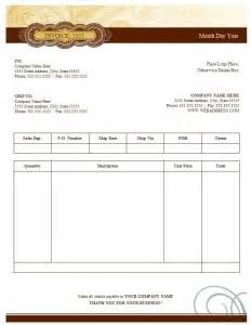 Fancy Invoice Template by 100 Free Invoice Templates Word Excel Pdf Formats