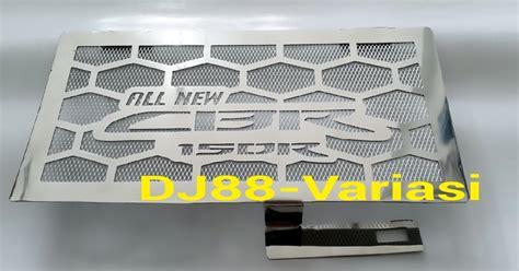 Variasi Cover Tutup Radiator V125new 150 dj88 variasi toko aksesories terlengkap dan terpercaya se