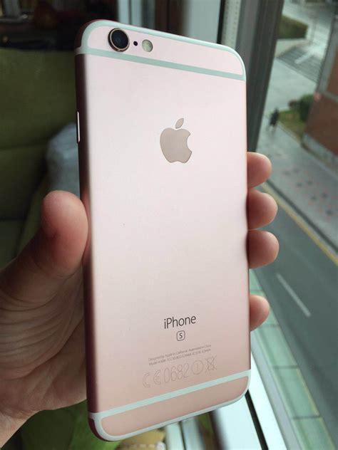 vendo iphone   gb rose gold como nuevo