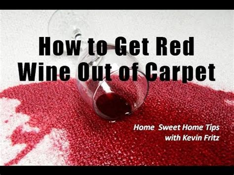 how to get red wine out of a sofa how to get red wine out of carpeting a product review