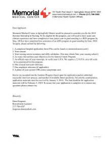 best cover letter for nursing internship vntask