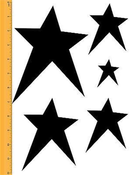 printable rustic star 11 best images about stencils for art paint on pinterest