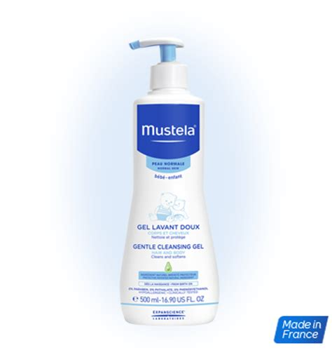 Promo Termurah Mustela Bebe 2 In 1 Hair And Wash 200ml dermo cleansing soap free hair and cleansing gel for baby mustela