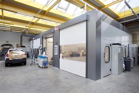 cabine forno per carrozzeria autocarrozzeria grosspeter cabine forno verniciatura tricon