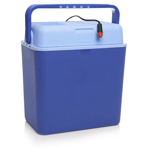 cool boxes bargain wilko 24l 12 volt dc electric cool box blue