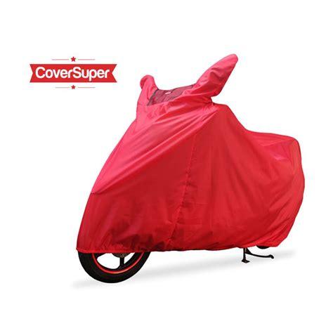 jual cover cover motor merah l harga kualitas terjamin blibli