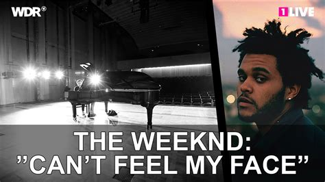 can t feel my face the weeknd the weeknd quot can t feel my face quot 1live chilly gonzales