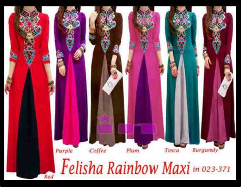 Maxy Muslim Trendy trendy muslimah wear trendy maxi dress at only rm98