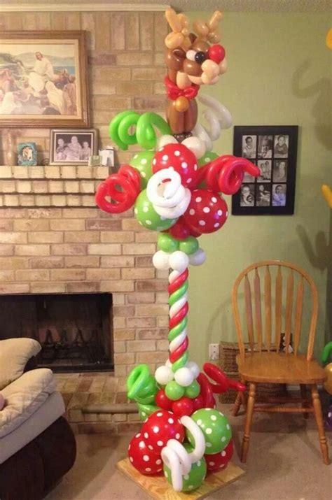 ideas for decoratingpillars for xmas 40 creative balloon decoration ideas for hobby lesson