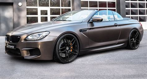 bmw m6 convertible g power s 789hp bmw m6 convertible is the ultimate dryer