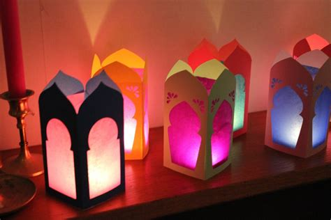 How To Make Lanterns Out Of Paper - ramadan moroccan lanterns