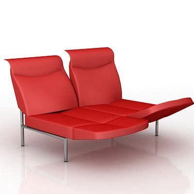 high tech sofa high tech sofa 3d model de sede ds 450