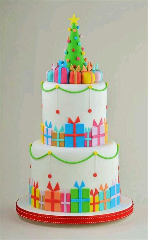 easy classy christmas tree from fondant cake decorating trees pretty birthday cakes and trees