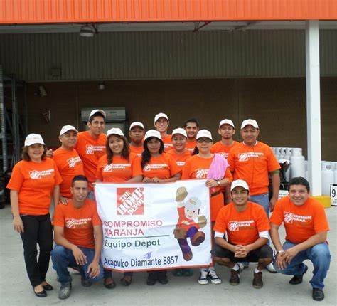 voluntariado de the home depot movilizar 225 a m 225 s de 5 mil