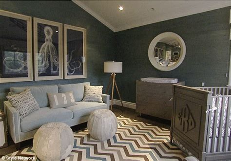 giuliana rancic house giuliana and bill rancic s nautical themed nursery for edward duke inside their