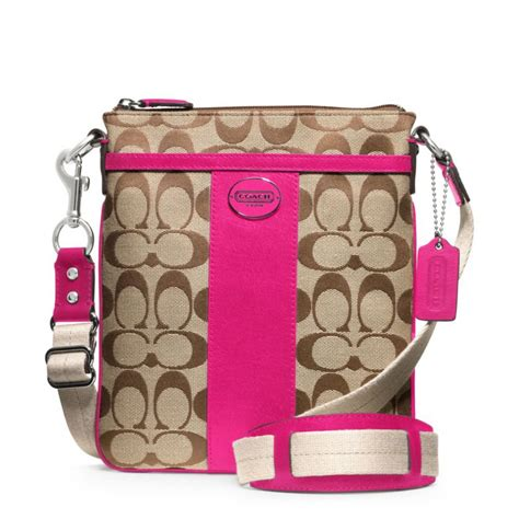 coach swing pack coach legacy signature swingpack from coach inlove