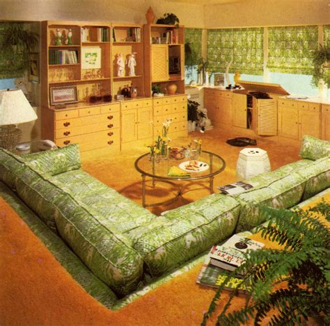 living room pit 70s sunken living room pit vintage home and stuff living rooms room and retro