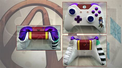 borderlands 2 color rarity moxxi rarity custom xbox one controller by cardi ology