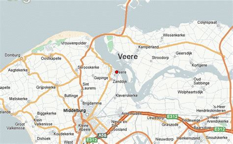 flushing netherlands map veere location guide