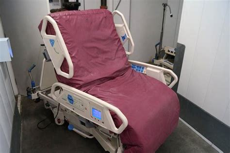 hospital chair bed hill rom p1900 totalcare sport bed hospital beds
