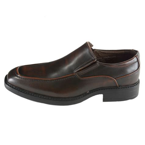loafer dress shoes alpine swiss brig mens moc toe dress shoes slip on loafer
