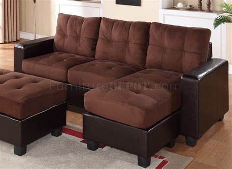 Brown Sectional Sofa Microfiber 2500 Sectional Sofa Set In Brown Bi Cast Brown Microfiber
