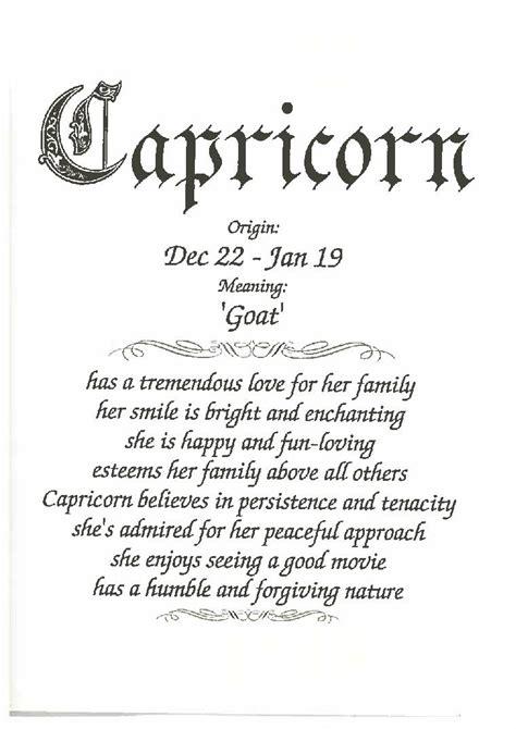 capricorn female happy birthday card anytime greeting cards  gifts greeting cards