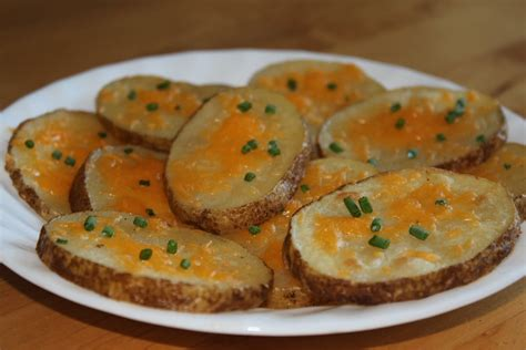 Reader Recipe Cheesy Baked Potatoes by Recipes Plus More Cheesy Baked Potato Slices