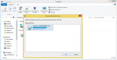 map network drive windows 8 map network drive in windows 8