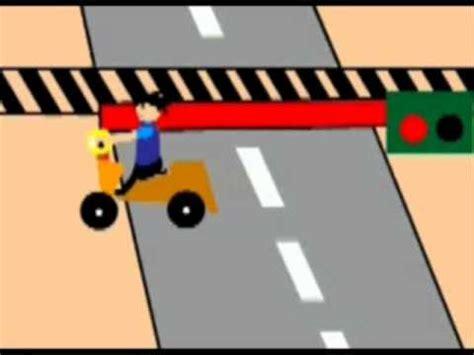 cara membuat iklan layanan masyarakat lu lalu lintas animasi funnydog tv