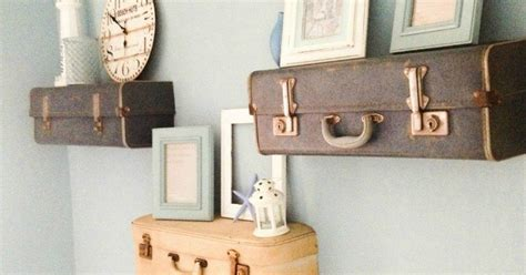 How To Make A Suitcase Shelf by Diy Suitcase Shelves Hometalk