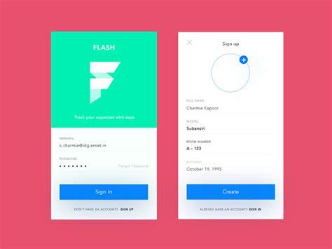 design form app mobile ui login form design how to do it properly