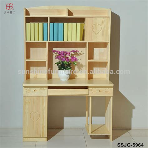 childrens desk and bookshelves wooden modern bookcase bookshelf bookcase with study table