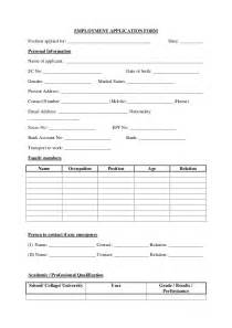 Candidate Application Form Template by Application Form That Shows Your Candidates Background