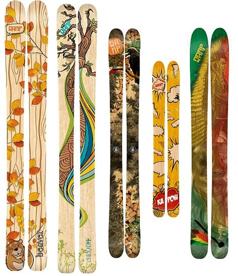 Handmade Snowboards - sustainably built r skis offer a greener skiing