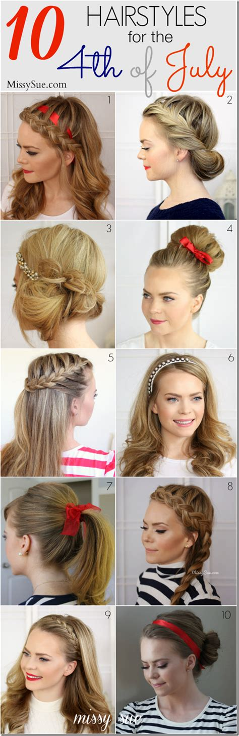 hair of boor boor with hair hairstyles to do for fourth of july
