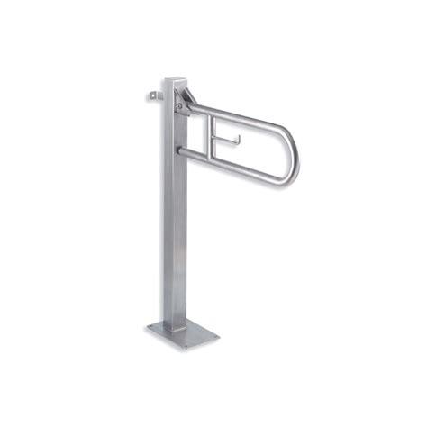 barre de soutien baignoire barre d appui relevable avec pied de soutien inox
