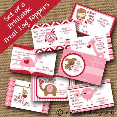 valentine bag toppers printable valentines day bag toppers valentine treat bag toppers kids school valentines diy