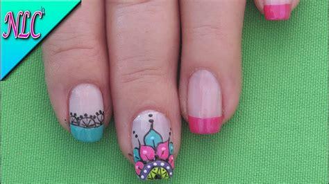 decorado de uñas para niñas pies decorado de u 195 177 as mandala nail art youtube go