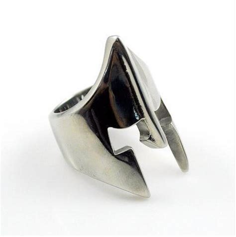 Parutan Steenliss stainless steel spartan ring ancient explorers