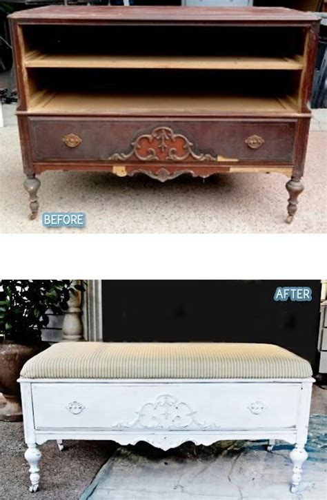 dresser into bench repurposed dresser into bench i love that it still has a