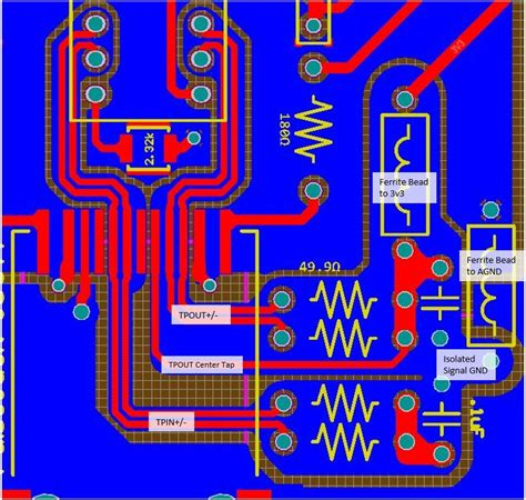 pcb layout guidelines for ethernet ethernet interface pcb layout electronicsxchanger