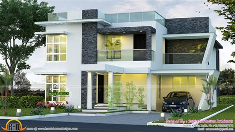 modern house designs pictures gallery june 2016 kerala home design and floor plans